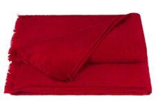 plaid rood alpacawol