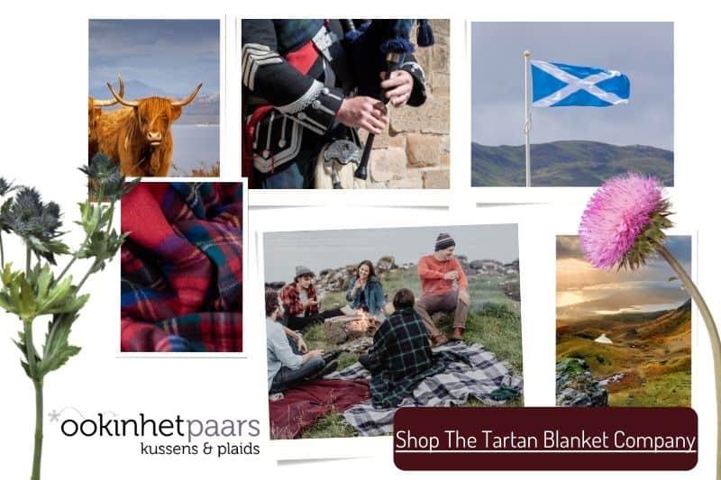The Tartan Blanket Company Schotland