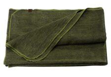 plaid groen alpacawol mosgroen