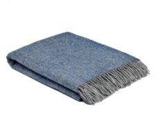 plaid blauw grijs wol periwinkle cosy mcnutt
