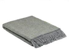 plaid groen grijs wol cosy meadow mcnutt
