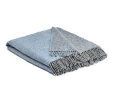 plaid lichtblauw grijs wol reverse mcnutt starlight