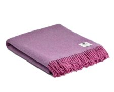plaid roze lila lavendel wol mcnutt