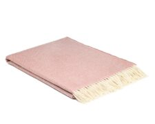 plaid roze wol visgraat rose bay mcnutt