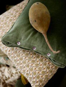 Groene kussens Bungalow