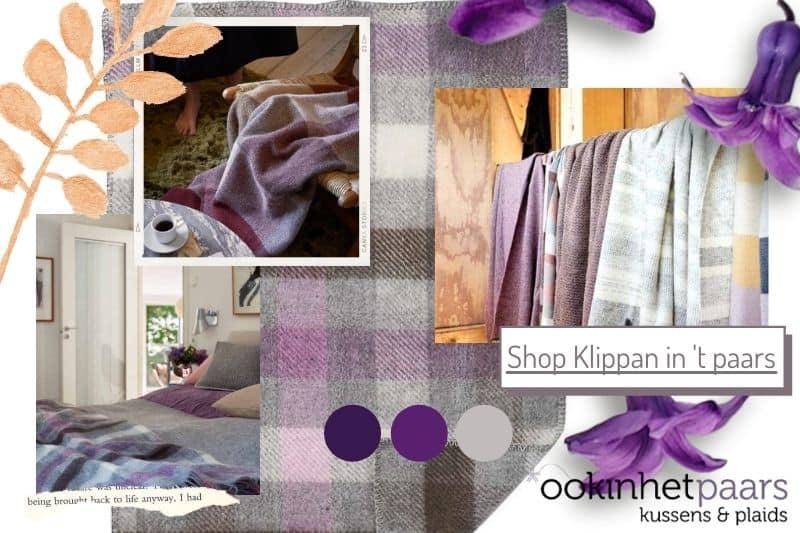 Shop Klippan in het paars
