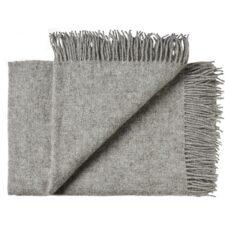 plaid grijs wol samso