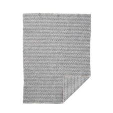 wiegdeken grijs eco lamswol
